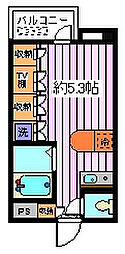 埼玉県さいたま市南区根岸5丁目の賃貸マンションの間取り