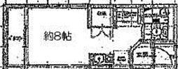 徳丸3丁目アパート[2階]の間取り