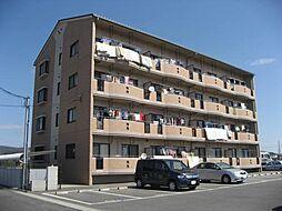 岡山県岡山市中区倉田の賃貸マンションの外観