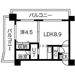 セレブシティ[8階]の間取り