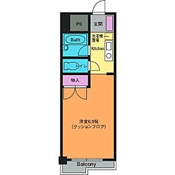 シャルマンコート[5階]の間取り
