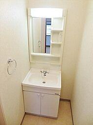 ヴィラ・リッコの洗面所