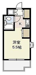 埼玉県さいたま市浦和区仲町2丁目の賃貸マンションの間取り