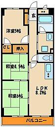 ベルトピア西明石7[4階]の間取り