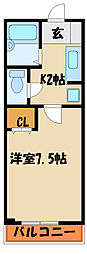 エテルネル[1階]の間取り