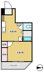 三浦ビル[2階]の間取り