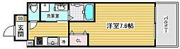 エスリード神戸三宮パークビュー[2階]の間取り