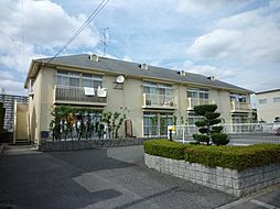 大阪府堺市中区深阪の賃貸アパートの外観