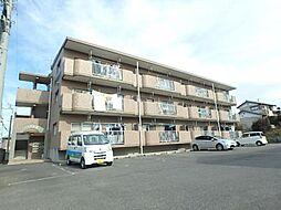 群馬県太田市宝町の賃貸マンションの外観