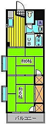 芳賀マンション[3階]の間取り