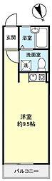 sebosebo津田沼[2階]の間取り