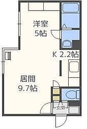 ComfortCity[4階]の間取り