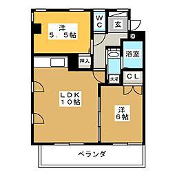 アーク21ビル[4階]の間取り