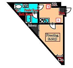 東京都武蔵野市吉祥寺北町4丁目の賃貸マンションの間取り