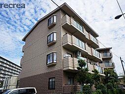 兵庫県伊丹市大鹿2丁目の賃貸マンションの外観