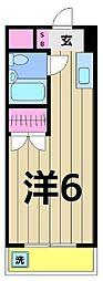 エレガンス綾瀬6[314号室]の間取り