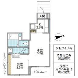 (仮)小松1丁目アパート[101号室号室]の間取り