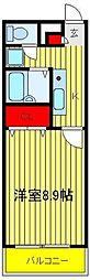 Empereur Fer豊四季(アンプルールフェール)[2-105号室]の間取り