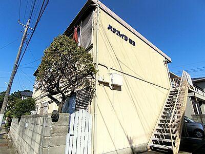 外観,1K,面積20m2,賃料2.5万円,JR常磐線 水戸駅 3.6km,,茨城県水戸市袴塚