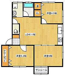 セーフティアットホーム I[1階]の間取り