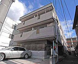 京都府京都市南区八条通坊城下る西入東寺町の賃貸マンションの外観