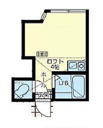 ユナイト戸部ポポロ[1階]の間取り