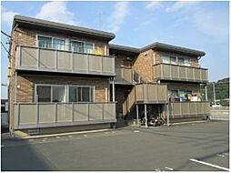 静岡県磐田市一言の賃貸アパートの外観