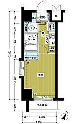 トーシンフェニックス初台弐番館[7階]の間取り