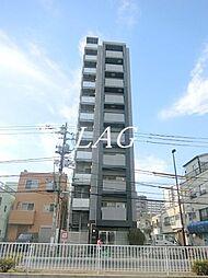 東京都江東区北砂5丁目の賃貸マンションの外観