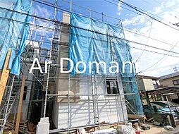 千葉県松戸市新松戸5丁目の賃貸アパートの外観