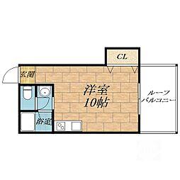 東興マンション[3階]の間取り