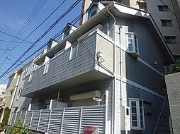 兵庫県神戸市中央区下山手通8丁目の賃貸アパートの外観