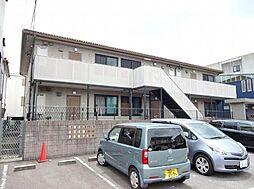 愛知県名古屋市名東区文教台1の賃貸アパートの外観