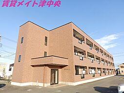 三重県津市神納の賃貸アパートの外観