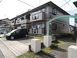 京都府宇治市木幡檜尾の賃貸アパートの外観