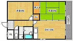 大阪府大阪市西成区潮路1丁目の賃貸マンションの間取り