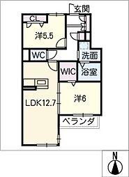 仮)シャーメゾン浜田町[3階]の間取り