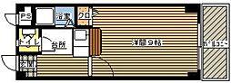AMANO FLAT[107号室]の間取り