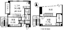 HAMPSTEAD HOUSE[2階]の間取り