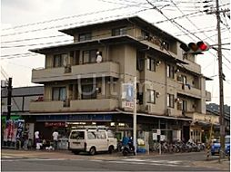 京都府京都市左京区岩倉中大鷺町の賃貸マンションの外観