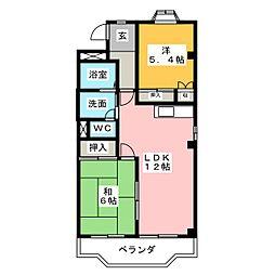 エスポワールOH72[3階]の間取り