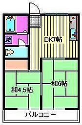 進藤ビル[2階]の間取り