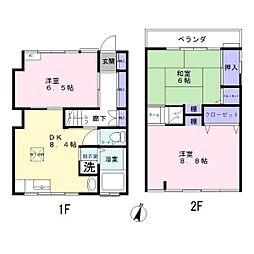 [一戸建] 埼玉県さいたま市浦和区上木崎1丁目 の賃貸【/】の間取り