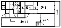 コートSU(コートエスユー)[301号室号室]の間取り