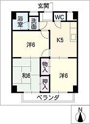 双栄ビル[2階]の間取り