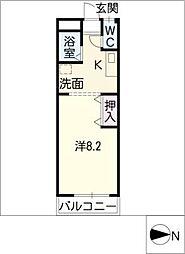 コーポ香久山[2階]の間取り