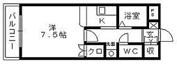 アーバンコート野口[2階]の間取り
