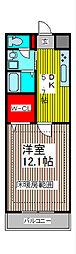 SUNRIZE・大褄[102号室]の間取り