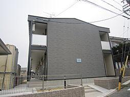 愛知県名古屋市天白区向が丘4丁目の賃貸アパートの外観