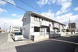岡山県岡山市北区今3丁目の賃貸アパートの外観